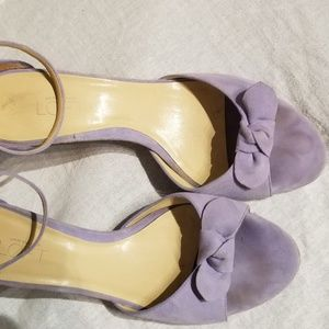 ANN TAYLOR lilac sandals 8.5